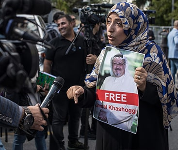 امریکا لاپتہ صحافی کی تلاش میں مدد کریگا، ٹرمپ سعودی حکومت پر برس پڑے ۔
