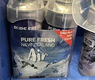 اب 'تازہ ہوا' فروخت ہوگی، نیوزی لینڈ میں کامیاب تجربہ
