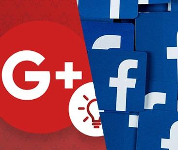 گوگل پلس فیس بک کا مقابلہ نہیں کرسکا