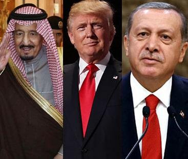 ترکی اور سعودیہ کا صحافی کے معاملے پر تحقیق پر زور، ٹرمپ وزیر خارجہ کو ریاض بھیجیں گے۔