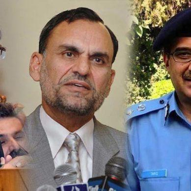 وفاقی وزیر سائنس و ٹیکنالوجی اعظم سواتی عہدے سے مستعفی