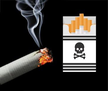 سگریٹ پیکٹ پرسرطان زدہ منہ کی جگہ نئی تصویری وارننگ تیار۔