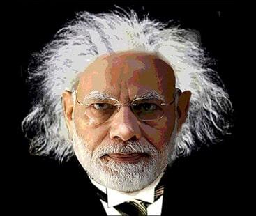 مودی کے بھارت میں سائنسدان بھی غیر منطقی