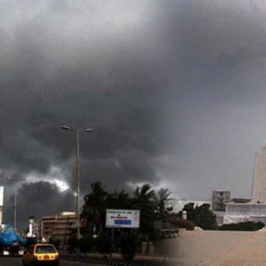 کراچی میں صبح سویرے ہونیوالی ہلکی بارش سے موسم خوشگوار
