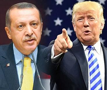 امریکی صدر ڈونلڈ ٹرمپ کی ترکی کو  تباہ کرنے کی دھمکی