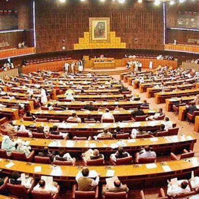 قومی اسمبلی اجلاس میں پیپلزپارٹی کا احتجاج