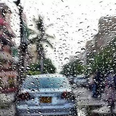 کراچی میں بارش کا سسٹم مکمل طور پر ختم۔
