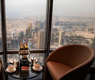 برج الخلیفہ میں قائم دنیا کے بلند ترین ہوٹل کا افتتاح کردیا گیا