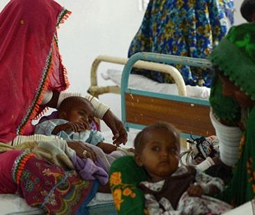 غذائی قلت ، تھر میں مزید پانچ بچے انتقال کر گئے