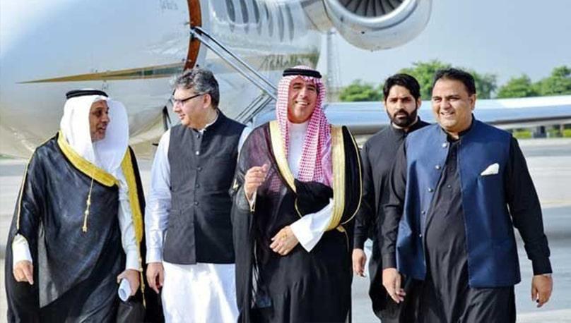 سعودی ولی عہد محمد بن سلمان کا دورہ پاکستان :سعودی حکومت کا 6 رکنی وفد پہنچ گیا