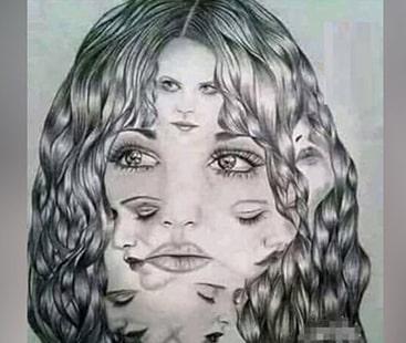 اس تصویر میں کتنے چہرے ہیں؟