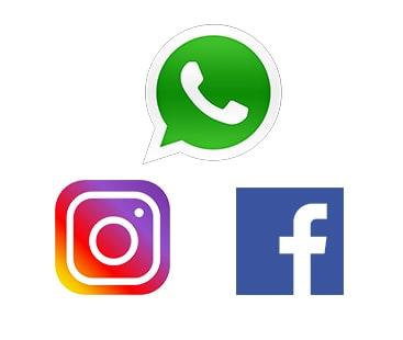 واٹس ایپ اکاؤنٹس معطل، فیس بک اور انسٹا گرام کو تاریخی بندش کا سامنا