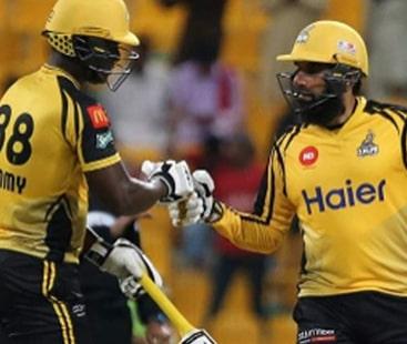 سیمی اور مصباح کی دھواں دار بیٹنگ، لاہور کو زلمی کے ہاتھوں شکست