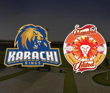 کراچی کنگز اور اسلام آباد یونائیٹڈ کا ٹکرا