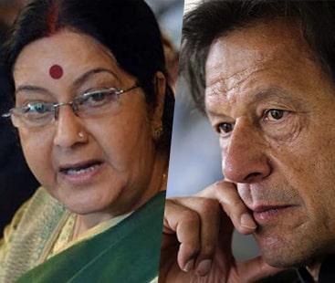 عمران خان امن کے حامی ہیں تو مسعود اظہر ہمارے حوالے کردیں: سشما سوراج