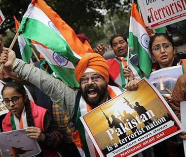 بھارتی عوام پاکستان کو خطرہ سمجھتی ہیں