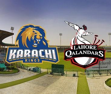 لاہور قلندرز کو کراچی کنگز کے ہاتھوں شکست