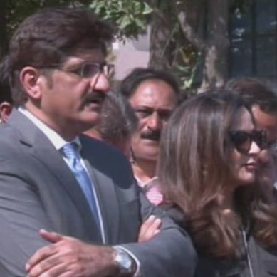 جعلی اکاؤنٹس کیس میں وزیراعلیٰ سندھ کی پیشی