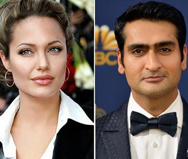 پاکستانی نژاد کامیڈین اینجلینا جولی کے ساتھ جلوہ گر ہوگے
