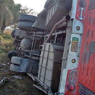 بدین مسافر بس کو حادثہ، آٹھ افراد جاں بحق چوالس ذخمی
