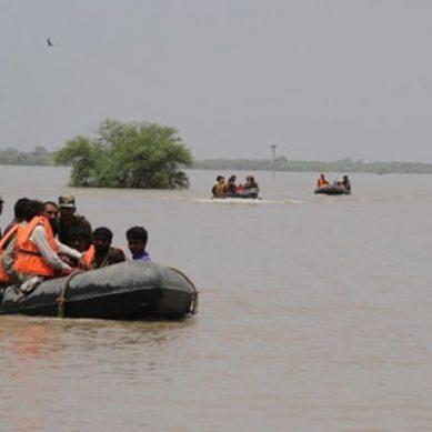 بلوچستان کے مختلف اضلاع میں سیلابی صورتحال