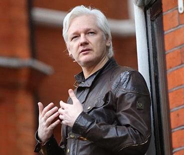 وکی لیکس کے بانی لندن میں گرفتار