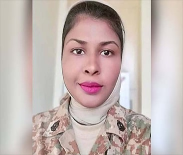 پاک فوج کی خاتون میجر نے امریکا میں گولڈ میڈل حاصل کر لیا