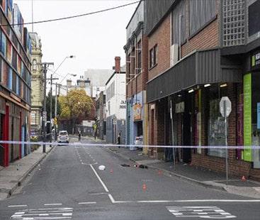 میلبرن میں نائٹ کلب کے باہر فائرنگ سے ایک شخص ہلاک اور تین زخمی