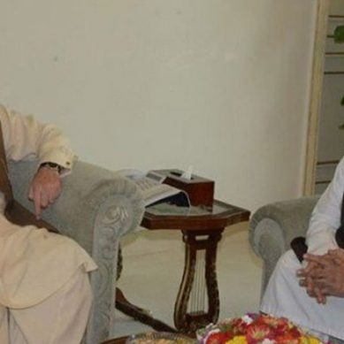 مولانا فضل الرحمان کی نواز شریف سے ملاقات
