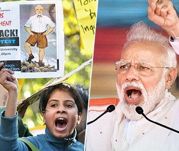 مودی کی انتخابی چالیں ناکام،75 فیصد بھارتی مودی کے خلاف ووٹ دیں گے، ویب سائٹ کا دعوی