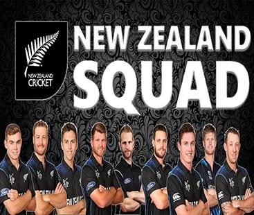 ورلڈ کپ کے لئے نیوزی لینڈ نے اسکواڈ کا اعلان کر دیا