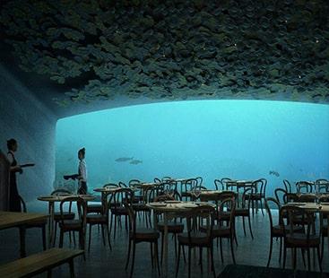 دنیا کا پہلا زیر سمندر ریسٹورنٹ