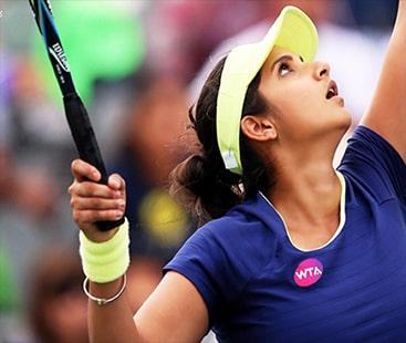 ثانیہ مرزا ڈیڑھ سال بعد ٹینس کورٹ میں واپس آگئی