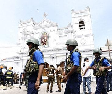 سری لنکا دھماکہ، 300افراد ہلاک، سیکڑوں ذخمی، 24ملزمان گرفتار