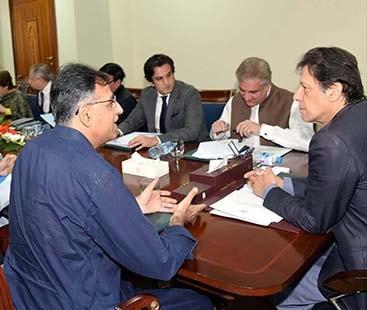 وزیر اعظم نے اسد عمر کو قائمہ کمیٹی برائے خزانہ کا چیئرمین بنادیا