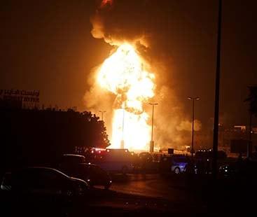 سعودی عرب تیل کی پائپ لائنوں میں سرحد پار ڈرون حملے