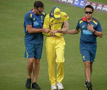 آسٹریلوی ٹیم کو دھچکا: فاسٹ باؤلر جائے رچرڈسن ورلڈکپ سے آؤٹ