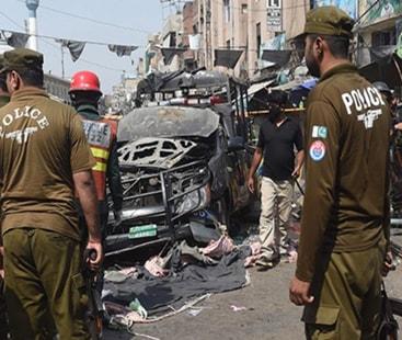 داتا دربار خود کش حملہ:  شہداء کی تعداد 12 ہوگئی