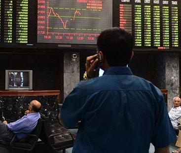 معاشی بے یقینی: اسٹاک ایکسچینج میں شدید مندی کا رجحان
