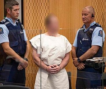 نیوزی لینڈ: 51 نمازیوں کو شہید کرنیوالے دہشتگرد برینٹن ٹیرنٹ پر فرد جرم عائد