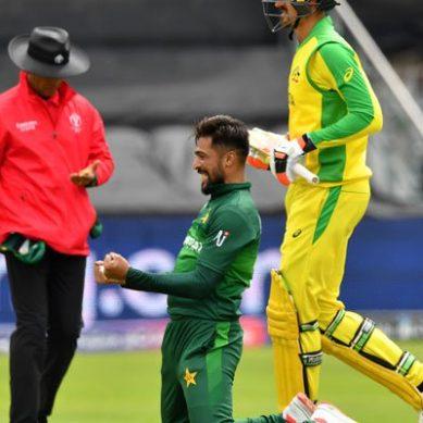 ورلڈکپ: آسٹریلیا نے پاکستان کو 41 رنز سے شکست دے دی
