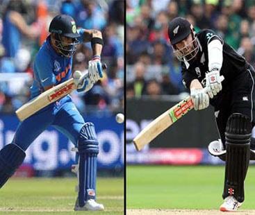 ورلڈکپ کا پہلا سیمی فائنل: نیوزی لینڈ اور بھارت کے درمیان کھیلا جائے گا