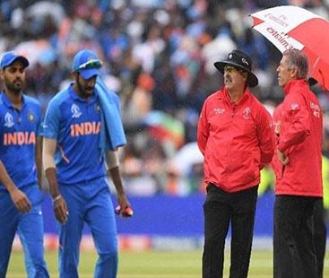 بارش کے باعث بھارت اور نیوزی لینڈ کا روکا گیا سیمی فائنل آج ہوگا