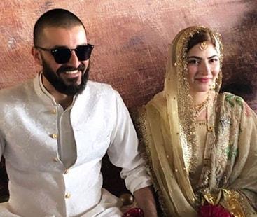حمزہ عباسی اور نیمل خاور رشتہ ازواج میں منسلک