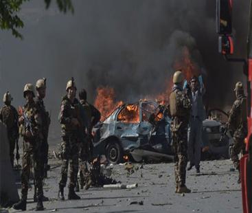 صدر اشرف غنی کی ریلی میں دھماکا