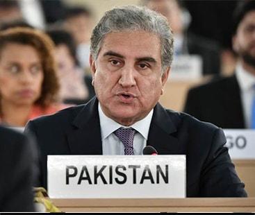 مقبوضہ کشمیر کو دنیا کی سب سے بڑی جیل بنا دیا گیا:وزیر خارجہ شاہ محمود قریشی