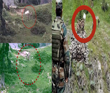 پاک فوج کا ایل او سی پر بھارت کو منہ توڑ جواب، 9 بھارتی فوجی ہلاک