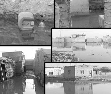 سمندری طوفان 'کیار' : کراچی کی ساحلی پٹی میں پانی داخل ہوگیا