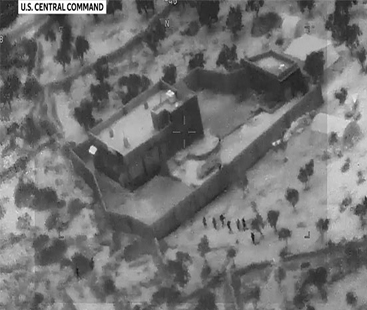 امریکی محکمہ دفاع نے البغدادی پر حملے کی ویڈیو جاری کر دی