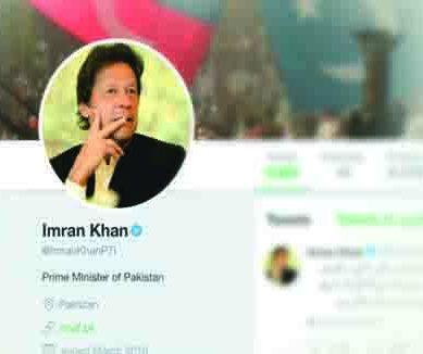 وزیر اعظم عمران خان ٹوئٹر پر دنیا کے چھٹے مقبول ترین عالمی رہنما
